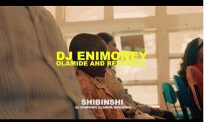 """Watch DJ Enimoney – """"Shibinshii"""" ft. Olamide x Reminisce"""
