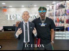 Zlatan in Icebox store