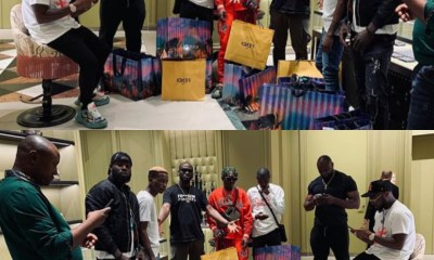 Davido with Davido takes 30 Billion Gang on shopping spree in Dubai