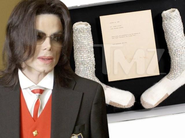 Michael Jackson moonwalk socks