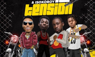 DOWNLOAD MP3: Solidstar ft. Orezi, Terry Apala, Isoko Boy – No Tension