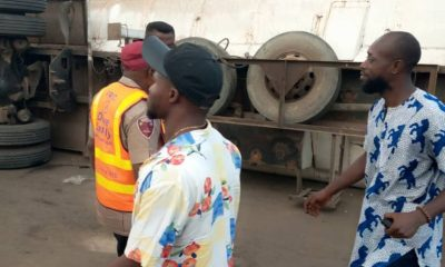 Tanker in Onitsha