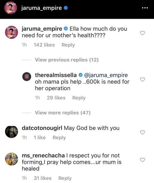 Ella's post