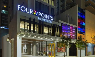 Gas explosion at four Point Hotel leaves 3 severely injured