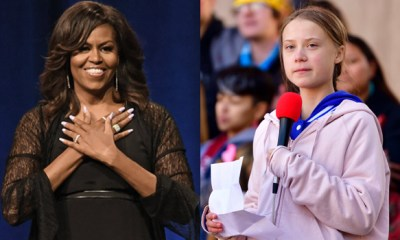 Michelle Obama encourages Greta Thunberg after Trump's mockery