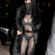 Cardi B steps out in sheer bodysuit to support her husband, Offset [PHOTOS]