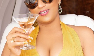 Juliet Ibrahim responds to Iceberg Slim with a toast to douchebags and a**holes