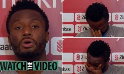 Mikel Obi in tears as spoke on racial abuse on his family