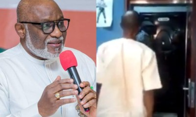 Gov Akeredolu's media aide storms out of live program [VIDEO]