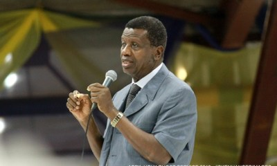 Coronavirus will never be washed away, it will subside - Pastor Adeboye