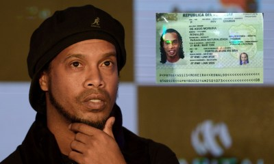 Football legend Ronaldinho arrested with fake passport in Paraguay