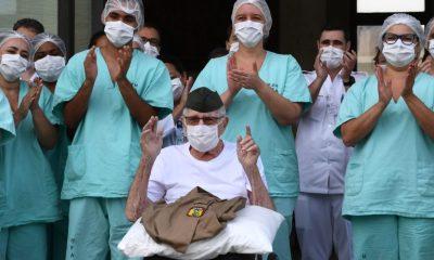 99-year-old World War II veteran beats Coronavirus in Brazil