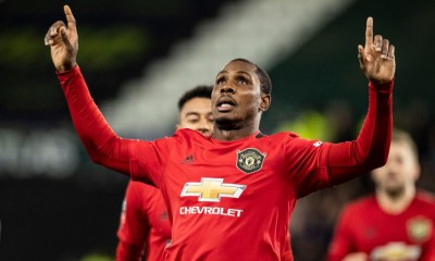 Manchester United suspends talks with Shanghai Shenhua for Odion Ighalo
