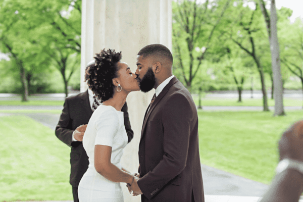 Nigerian man marries his Jamaican wife with just five guests