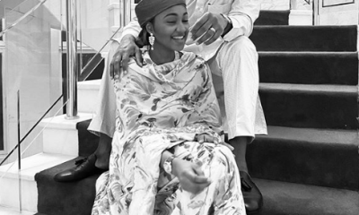 See lovely photo of Buhari's daughter, Zahra Indimi and her husband