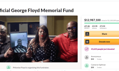 GoFundMe created for George Floyd rakes in $13 million topnaija.ng