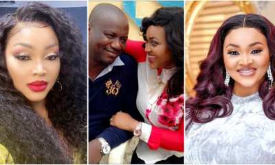 Father's day drama between Mercy Aigbe and ex-husband, Lanre Gentry topnaija.ng
