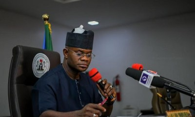 Yahaya Bello lifts lockdown, insists Kogi is COVID-19 free topnaija.ng