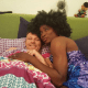 Gay rights activist, Bisi Alimi shares loved-up photo of himself in bed with his husband topnaija.ng