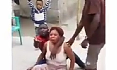 Man batters wife until she loses ability to move [VIDEO] topnaija.ng