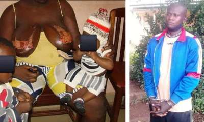 Police arrest man who poured hot water on nursing wife's breast