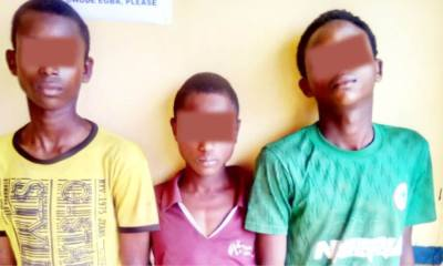 Three Fulani teenagers nabbed for highway robbery topnaija.ng