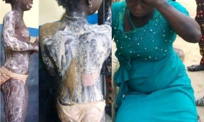 Aunt who assaulted niece with hot water finally arrested