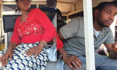 Couple who drilled nail into the head of maid to be remanded in prison
