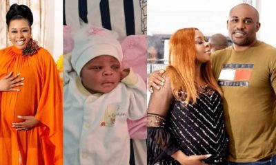 Former actress, Tricia Eseigbe welcomes daughter after 10 years of marriage
