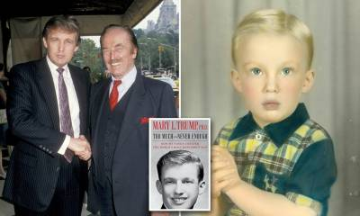 Trump's niece exposes his maltreatment of his father in new book