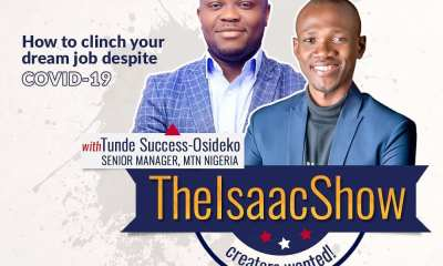 Tunde Success-Osideko Isaac Oladipupo The Isaac Series MTN Nigeria