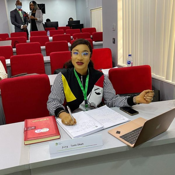 Tonto Dikeh returns to school 2