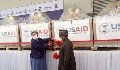 COVID-19: US hands over 200 ventilators to Nigeria
