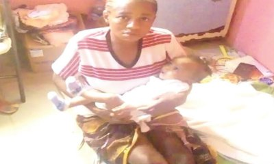 Blessing Bassey nursing-mother-detained-in-hosp