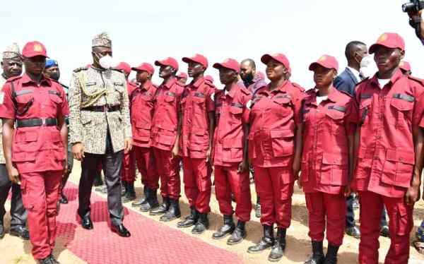 Seyi Makinde inaugurates Amotekun 1
