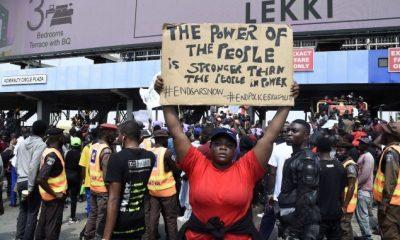 lekki protesters end sars