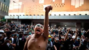 Hong Kong: Protester gets 21 months in prison for throwing eggs at police station-TopNaija.ng