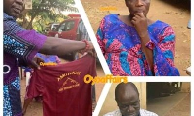 Two arrested for sewing security outfit in Ibadan [PHOTOS]-TopNaija.ng