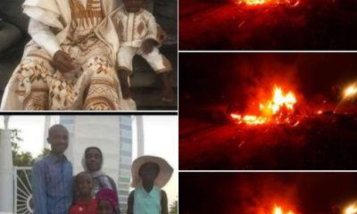 Six burnt to death in a fatal accident (photos)-TopNaija.ng