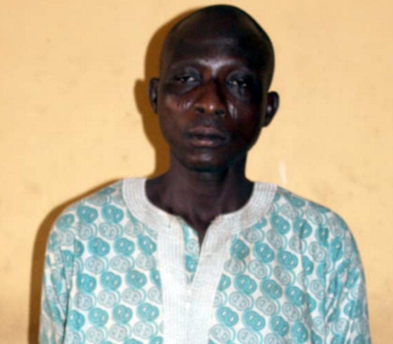 45-year-old man allegedly rapes his 13-year-old daughter