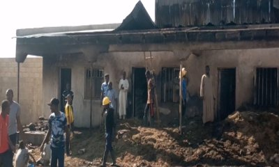 Early morning inferno destroys farm produce, other valuables in Damaturu [PHOTOS]-TopNaija.ng