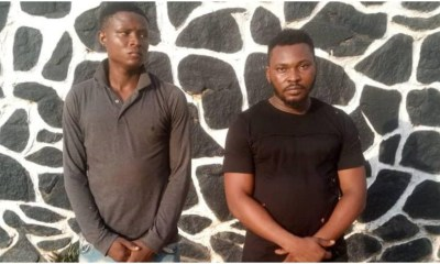 Two friends jailed for allegedly gang-raping and filming 19-year-old girl in Ogun-TopNaija.ng