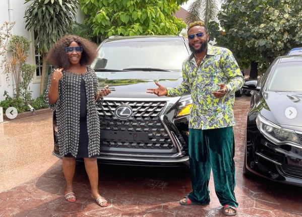 E-Money gifts his friends luxury cars on his birthday 1