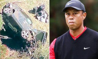 Tiger Woods hospitalised