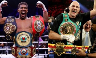 Anthony Joshua, Fury sign deal for world heavyweight title fight