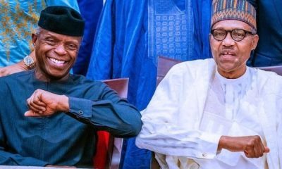 BREAKING: Buhari, Osinbajo to receive COVID-19 vaccines Saturday Top Naija
