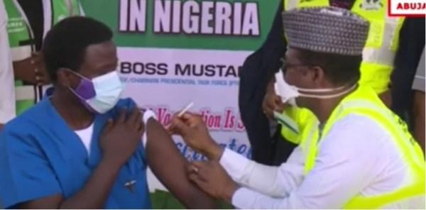 BREAKING: Nigeria commences COVID-19 vaccination Top Naija