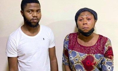 Mother and son arrested for alleged N50m internet fraud-TopNaija.ng