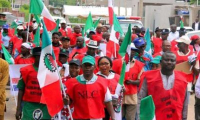 HAPPENING NOW: NLC minimum wage protests in Abuja, Lagos [VIDEO]
