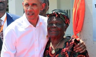 Obama's Kenyan granny 'Mama Sarah' dies at 99